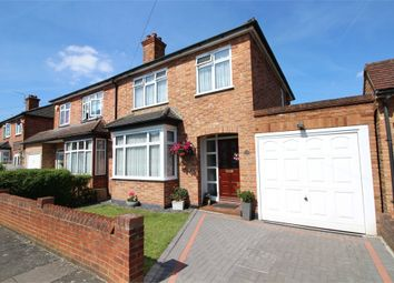 Thumbnail 3 bed semi-detached house for sale in St Hildas Avenue, Ashford, Surrey