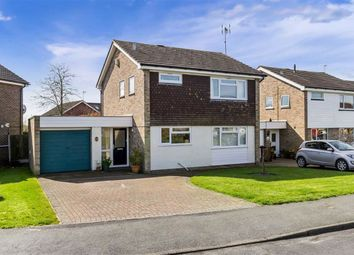 Thumbnail 3 bed detached house for sale in Chequers Park, Wye, Ashford