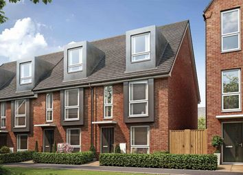 "Thumbnail 3 bed terraced house for sale in ""The Braxton - Plot 206"" at Off Budds Lane, Bordon, Whitehill & Bordon"