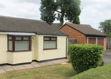 Thumbnail 2 bed bungalow for sale in Montague Road, Broughton Astley, Leicester