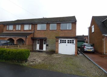 Thumbnail 3 bed semi-detached house to rent in Barn Common, Woodseave, Stafford