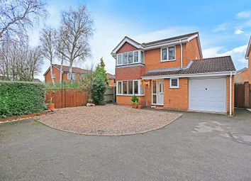Thumbnail 4 bed detached house for sale in Hillwood Avenue, Shirley, Solihull