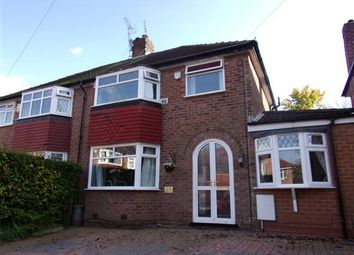 Thumbnail 3 bed semi-detached house for sale in Peelgate Drive, Heald Green, Cheshire