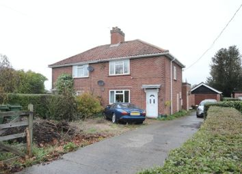 Thumbnail 3 bed semi-detached house for sale in Mill Road, Hempnall, Norwich