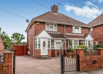 Thumbnail 2 bed semi-detached house for sale in Warner Road, Wednesbury