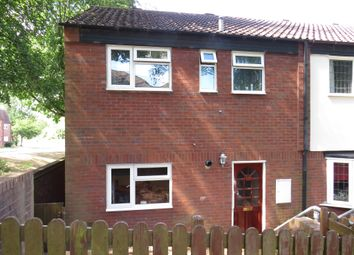 Thumbnail 3 bed end terrace house for sale in Carlcroft, Wilnecote, Tamworth