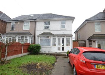 Thumbnail 3 bed semi-detached house for sale in Bromford Lane, Ward End, Birmingham