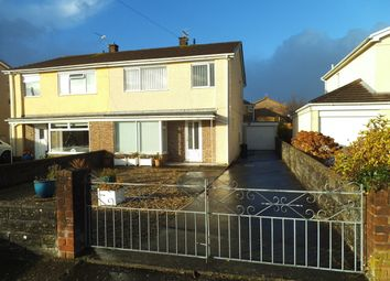 Thumbnail 3 bed semi-detached house for sale in Heol Mair, Litchard, Bridgend