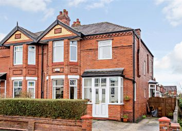 Thumbnail 4 bed semi-detached house for sale in Wellington Road North, Stockport