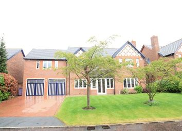 Thumbnail 4 bedroom detached house for sale in Friarsgate Close, Calderstones, Liverpool