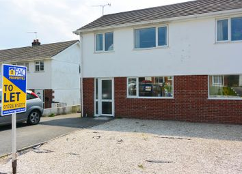 Thumbnail 3 bed semi-detached house to rent in Trecarne Close, Boscoppa, St. Austell