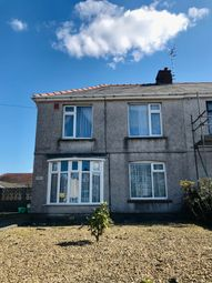 Thumbnail 3 bed semi-detached house for sale in 156 Cimla Road, Neath