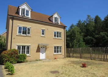 Thumbnail 5 bed property to rent in Evergreen Way, Mildenhall, Bury St Edmunds
