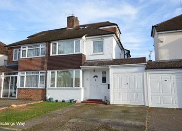 Thumbnail 4 bed semi-detached house for sale in Hitchings Way, Reigate, Surrey