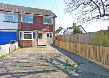 Thumbnail 3 bed semi-detached house for sale in Monceux Road, Herstmonceux, Hailsham