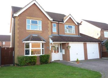 Thumbnail 4 bed detached house for sale in Huntsmans Chase, New Waltham, Grimsby