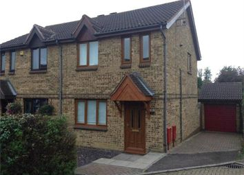 Thumbnail 3 bedroom semi-detached house to rent in Westwood Close, Great Holm, Milton Keynes