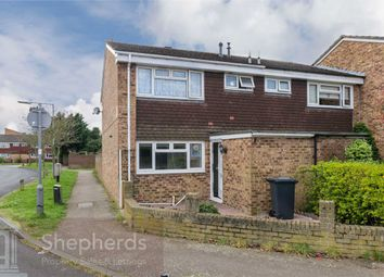 Thumbnail 3 bed end terrace house for sale in Slipe Lane, Broxbourne, Hertfordshire