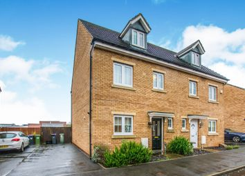 Thumbnail 4 bed semi-detached house for sale in St Dunstans Close, Griffithstown, Pontypool