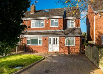Thumbnail 5 bed semi-detached house for sale in Moss Lane, Bickerstaffe, Ormskirk