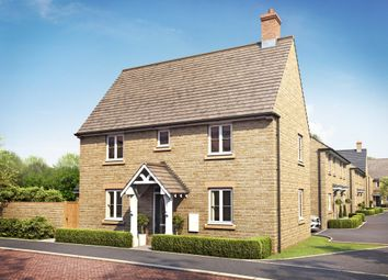 "Thumbnail 3 bed semi-detached house for sale in ""Hadley"" at Field Close, Longworth, Abingdon"