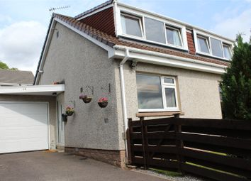 Thumbnail 4 bed semi-detached house to rent in Hollybank Crescent, Banchory, Aberdeenshire