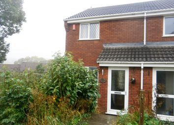 Thumbnail 2 bed end terrace house to rent in Westbury Close, Plymouth