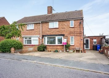 Thumbnail 4 bed semi-detached house for sale in Bedingfield Crescent, Halesworth
