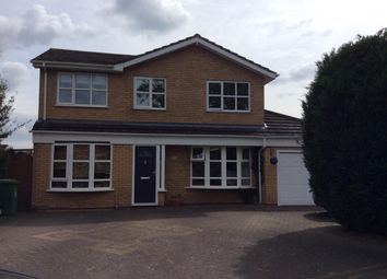 Thumbnail 4 bed detached house to rent in Ullenhall Road, Knowle, Solihull