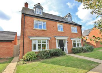 Thumbnail 5 bed detached house for sale in Mitchcroft Road, Longstanton, Cambridge