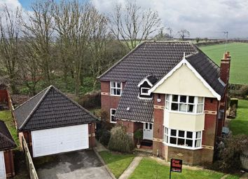 Thumbnail 4 bed detached house for sale in South Rise, Skidby, Cottingham