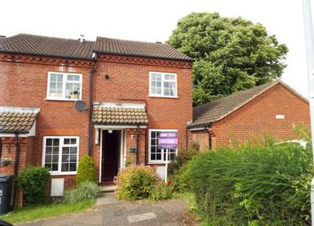 Thumbnail 2 bedroom end terrace house for sale in Ormsby Close, Luton, Bedfordshire