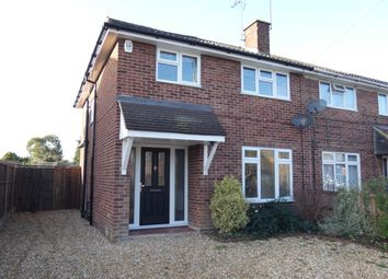 Thumbnail 3 bed semi-detached house to rent in Blunden Road, Farnborough, Hampshire