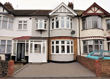 Thumbnail 3 bed terraced house for sale in Leonard Avenue, Romford