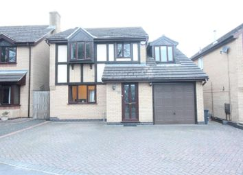 Thumbnail 4 bed detached house for sale in Falconers Green, Burbage, Hinckley