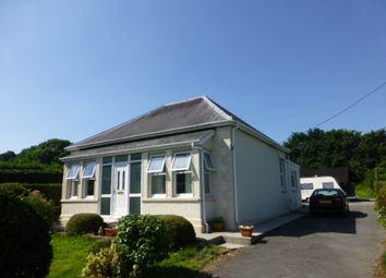 Thumbnail 3 bed bungalow to rent in Pontantwn, Kidwelly