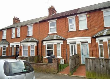 Thumbnail 3 bed terraced house to rent in Stradbroke Road, Ipswich, Suffolk