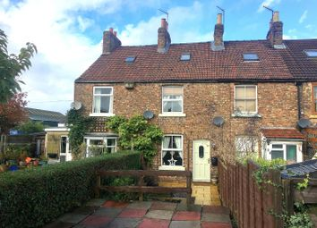 Thumbnail 3 bedroom terraced house for sale in Railway Terrace, Sowerby, Thirsk
