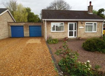 Thumbnail 2 bed bungalow for sale in Outwell, Wisbech, Norfolk