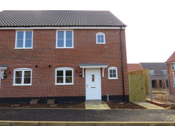 Thumbnail 2 bedroom semi-detached house for sale in Avocet Avenue, Hunstanton