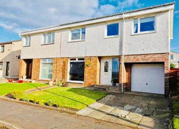 Thumbnail 4 bed semi-detached house for sale in Glenwood Place, Lenzie, Glasgow