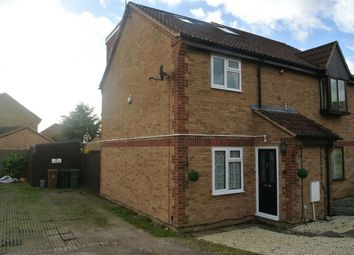 Thumbnail 3 bed semi-detached house for sale in Beaulieu Court, Eye, Peterborough, Cambridgeshire