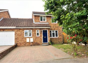 Thumbnail 4 bed link-detached house for sale in Minstead Close, Tadley