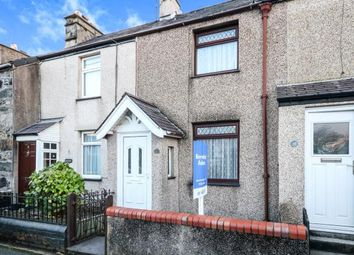 Thumbnail 2 bed terraced house for sale in Glan Gwna Terrace, Caeathro, Caernarfon, Gwynedd