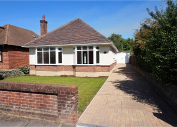Thumbnail 3 bed detached bungalow for sale in Bushey Road, Bournemouth