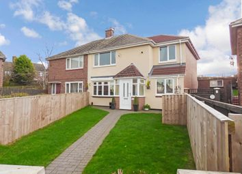 Thumbnail 3 bed semi-detached house for sale in Guernsey Square, Sunderland
