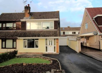 Thumbnail 3 bed semi-detached house for sale in Lon Tudur, Llangefni
