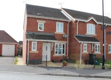 Thumbnail 3 bed end terrace house to rent in Manning Road, Cotford St Luke, Taunton, Somerset