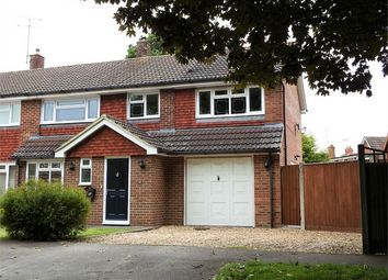 Thumbnail 4 bed semi-detached house for sale in Chestnut Road, Farnborough, Hampshire