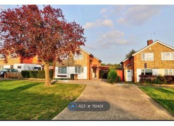Thumbnail 2 bed semi-detached house to rent in Ereswell Road, Luton